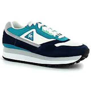 Men's Casual Shoe White And Blue
