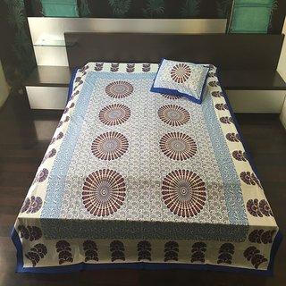 Beautiful Cotton Double Bedsheet
