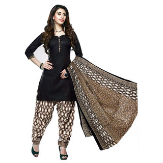 Fabulous Pure Cotton Womens Printed Dress Material (Un-stitched)
