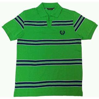 Coffler Men's Cotton T-Shirt Green
