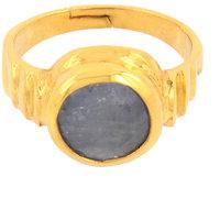 4.25 Ratti Certified Blue Sapphire Birthstone Ring For Shani Dosh
