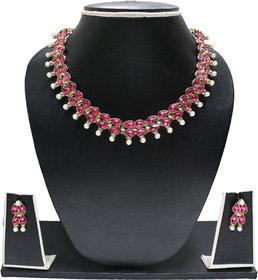 Zaveri Pearls Designer Kundan Jewellery Set