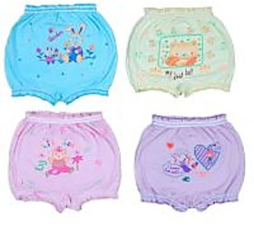 Kids Bloomers Set of 4(100% cotton)