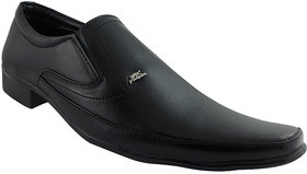 Elvace Black Pulsion Formal Men Shoes-9012