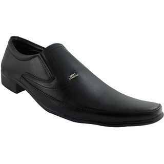 Elvace Black Pulsion Formal Men Shoes-9012
