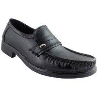 Elvace Black Gentleman Formal Men Shoes-9013