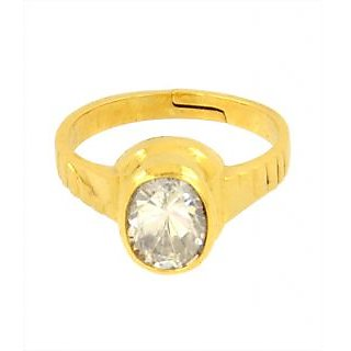 4.25 Ratti Certified Zircon Astrological Ring Good for Marital Life