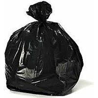Garbage Bag, Trash Waste Dustbin Bags (17 x 23 Inches) (Pack of 40)