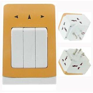 Multi Plug, Adapter, Multi Socket 5a 3-Pin Multi Adaptor Multi Socket With Swi