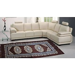 designer rug 23x71 inch - brown