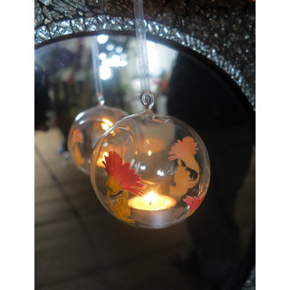 Printed Hanging Glass Ball 1405-1528