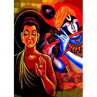 Mesleep Religious Canvas