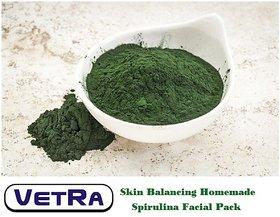 VETRA Skin Balancing Spirulina facial kit mask,Anti aging,Detoxifies Skin -200G