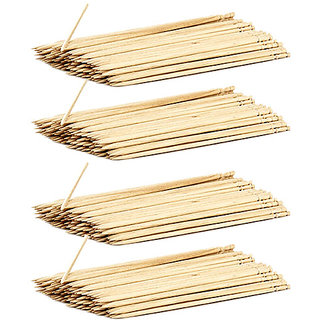 Wooden Satay Stick 8 (90 in each) (Pack of  4 )