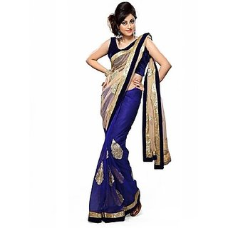Sarees Embroidered Bollywood Georgette