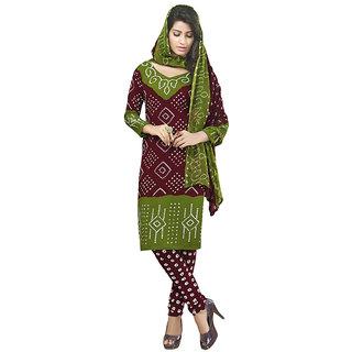 Varsha 3 Piece Printed Synthetic Georgett Monsoon Premium Classic Dress Material