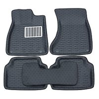Swift and swift Dzire Car Foot Mats 3D Black