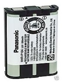 Panasonic Hhr-p104 Phone Battery Hhrp104 900 mAh
