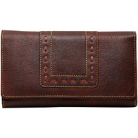 Borse Leather Brown Women Wallet