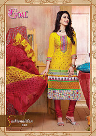 Fashionista Salwar Suit (Unstitched)
