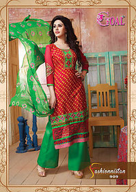 Fashionista Salwar Suit Dress Material. (Unstitched)
