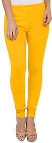Medha Yellow Churidar Legging