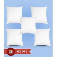 Hard Rock Pack Of 5 Premium Cushion Filler Set Of (16 X 16 Inch)
