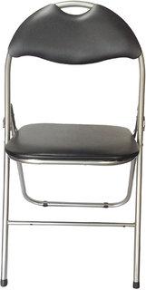 Mavi Attractive Black Color Kids Leatherite Chair- MCS-234