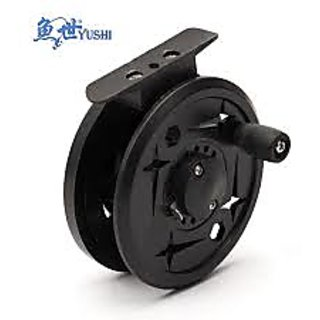Fly fishing reel stainless steel spring qy 80 for Reel steel fishing