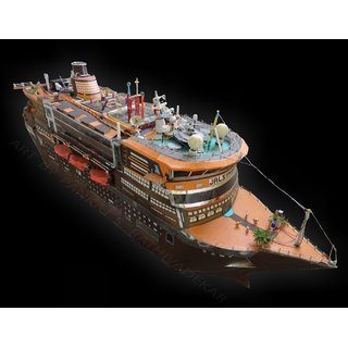 Cruise ship model(JALSAMRAT)