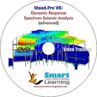 Staad.Pro V8i-Dynamic Response Spectrum Seismic Analysis-Video Training DVD
