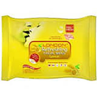 Lemon Facial Cleansing Wipes - 25 Wipes