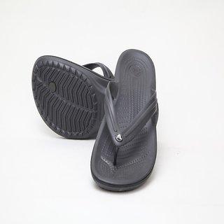 7b5fcb0e9037 Crocs Graphite Rubber Slipper