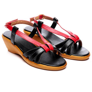 Nell Voguish Ladies Black Heels