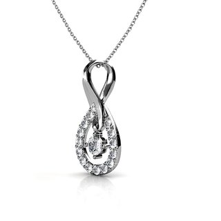 Zevrr Sterling Silver Pendant Made With Swarocski Zirconia (Pzsp03157)