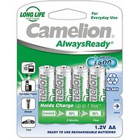 Camelion NH-AA1000 ARBP4 Rechargeable Battery(Free 1 Pack Of Alkaline Battery)