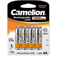 Camelion NH-AA1300BP4 Rechargeable Battery(Free 1 Pack Of Alkaline Battery)