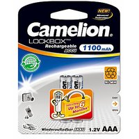 Camelion NH-AAA1100LBBP2 Rechargeable Battery(Free 1 Pack Of Alkaline Battery)