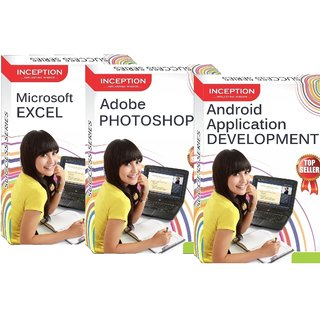 Learn Android Apps Development+Microsoft Excel+Adobe Photoshop - 3 FULL COURSES