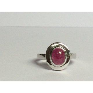 Silver 925 Ruby Ring RN-R-33