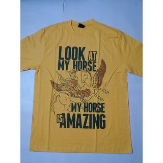MENS T- SHIRT MY HORSE IS AMAZING