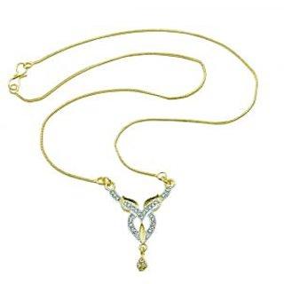 Aakshi Golden Shower Of Love Pendant Necklace