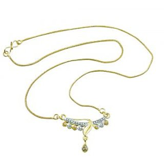 Aakshi Womens Promises To Keep Pendant Necklace