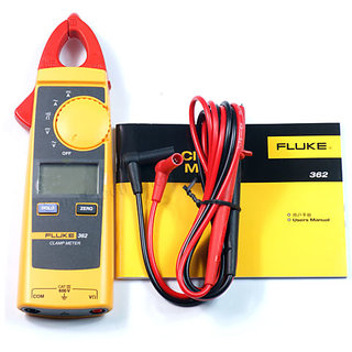 Digital Clamp Meter FLUKE 362 Measure AC DC Voltage, Current (Amps), Resistance