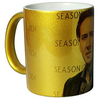 Golden Personalized Mug