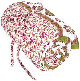 Bagru Crafts Quilt Rajwada Look Cotton Floral Hand Print Jaipuri Quilt Rajai