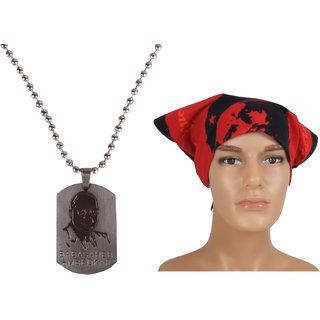 Jstarmart Style Necklace Combo Headwrap JSMFHNL0183