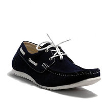 At Classic Men's Blue Lace-Up Casual Shoes