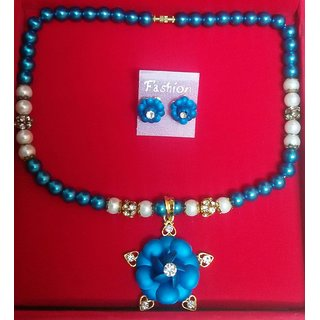 Jb Princess Pearl Necklace With Pandent