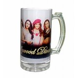 Beer Mug (Frosted Glass)